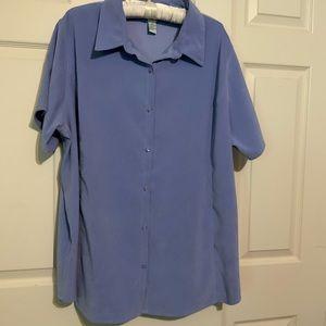 Plus Size Roaman's Short Sleeve Blouse